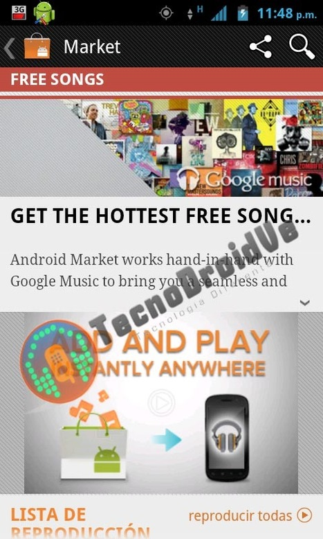 Google Music Store Images Leaked Ahead Of Official Launch | Music business | Scoop.it