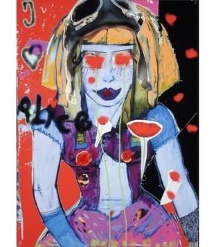 J'aime Alice - Carine prévot - Galerie d'art contemporain le hangART | Tableaux des artistes du hangART | Scoop.it