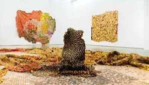 Ghana : El Anatsui, raccommoder le monde - Jeune Afrique | art move | Scoop.it
