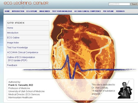 ECG Learning Center - An introduction to clinical electrocardiography | Medic e-learning Case 4 (Chest Pain) | Scoop.it