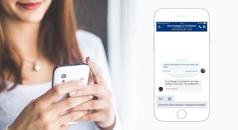 Booking lance une messagerie pour connecter hôteliers et voyageurs | Le tourisme pour les pros | Scoop.it