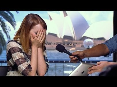 Emma Stone Brought to Tears by Mel B! | cell phone | Scoop.it