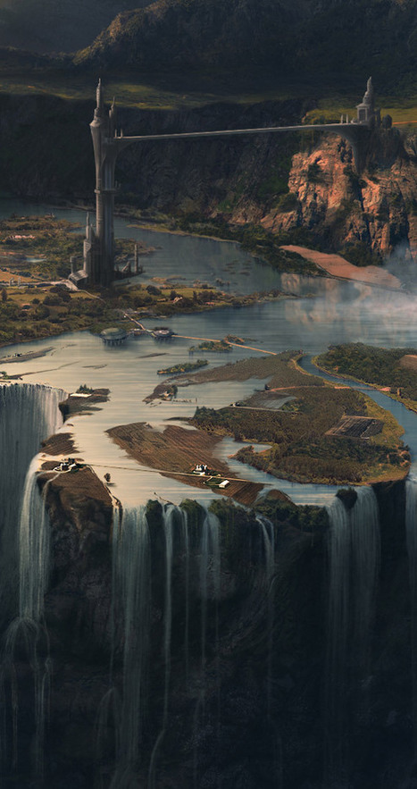 Amazing animation: Mickaël Forrett's matte painting breakdown | 3D World | Awesome digital art | Scoop.it
