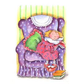 + 3: La butaca contacontes (per Miri4, il·lustració de Júlia Oliver) | CONTES, FAULES i altres històries | Scoop.it