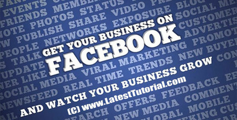 Utilizing Your Facebook Profile For Business Purposes | Conteaxtualized communications | Scoop.it