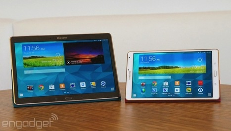 Samsung Galaxy Tab S review: slim design, long battery life, stunning screen | PUHELINVAIHDE | Scoop.it