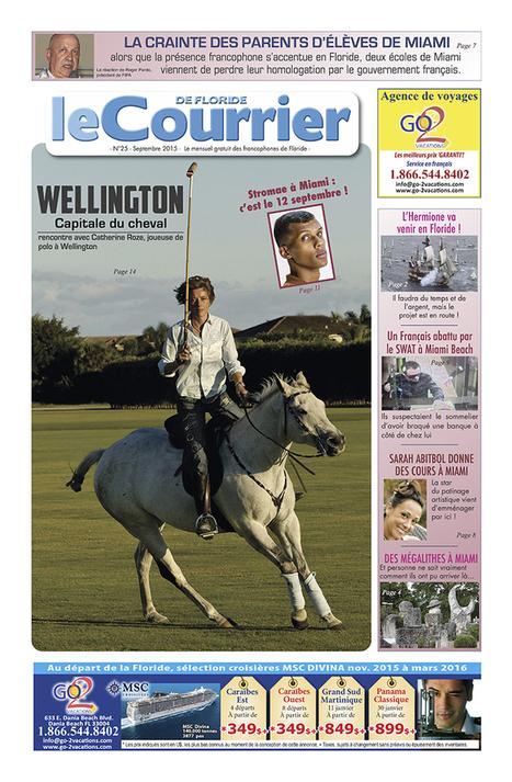 Interview : Catherine Roze, joueuse de polo à Wellington - Floride | Cheval et sport | Scoop.it