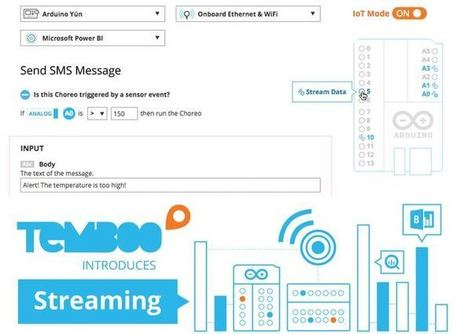 Temboo Streaming Allows You To Connect Arduino Sensors To The Cloud - Geeky Gadgets | Raspberry Pi | Scoop.it