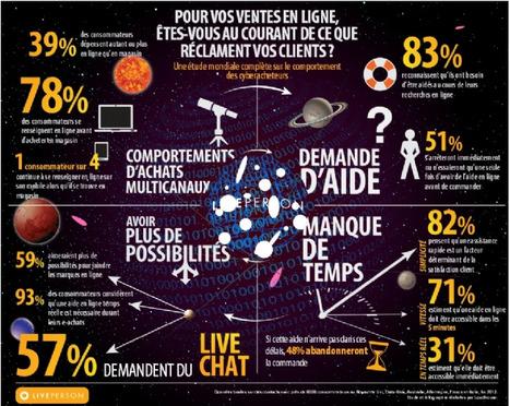 Service client : les attentes des cyberacheteurs | infographics2day | Scoop.it
