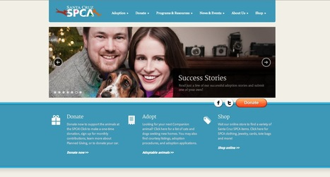 SPCA | Beaux sites WordPress | Scoop.it