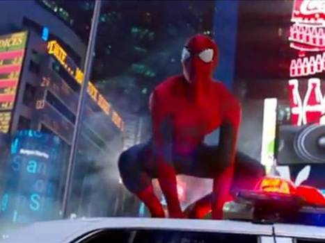 New 'Amazing Spider-Man 2' teaser destroys Times Square - Today.com (blog) | The Amazing Spider-Man 2 Trailer, News, Videos,1080p | Scoop.it