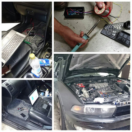 Insta-Arduino | Ethanol conversion almost done #mitsubishi #vr-4... | Raspberry Pi | Scoop.it