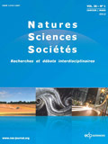 Natures Sciences Sociétés - Vol 24 - 2 - Avril-juin 2016 | Parution de revues | Scoop.it