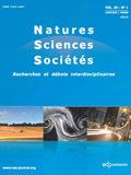 Natures Sciences Sociétés - Vol. 24, No. 1 (janvier-mars 2016) | Parution de revues | Scoop.it