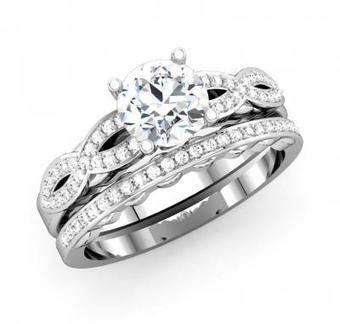 His and Hers Wedding Rings with Matching Diamond Band | Wedding Ring | Scoop.it