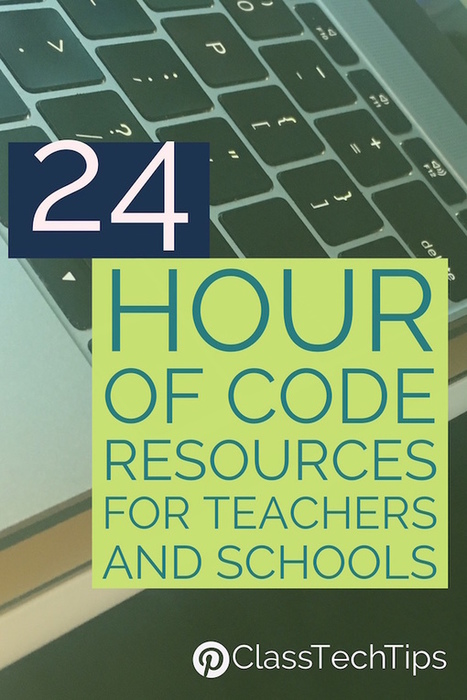 24 Hour of Code Resources for Teachers and Schools - Class Tech Tips | math | Scoop.it