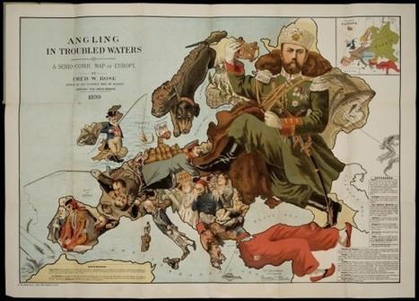 Η Ιστορία της Ευρώπης του 1800 μέσα απο χιουμοριστικούς χάρτες | Informatics Technology in Education | Scoop.it