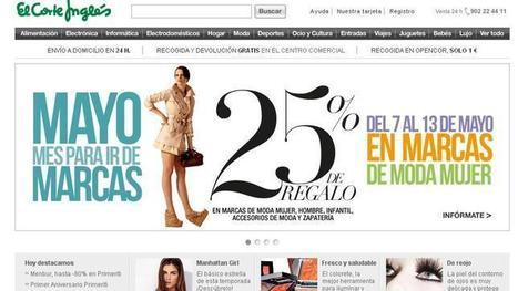 El Corte Inglés arrebata el liderazgo en internet en España a Amazon y eBay | Cardiopsicologia | Scoop.it