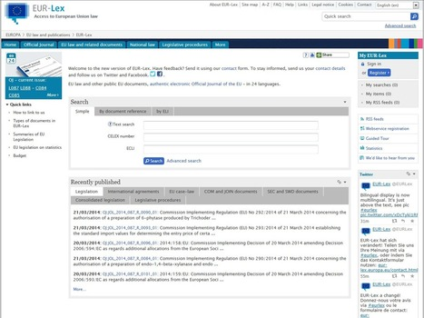 Discover new EUR-Lex | Professional Translation | Scoop.it
