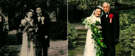 98-Year-Old Couple Recreates Wedding Photos 70 Years Later | Seniors: Learning is Timeless | Scoop.it