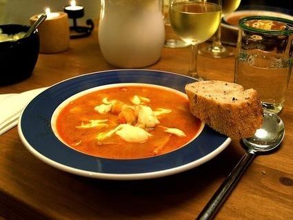 Recette de bouillabaisse à la lotte, aux écrevisses et cornichons (pays de l'Est) | Cuisine du monde | Scoop.it