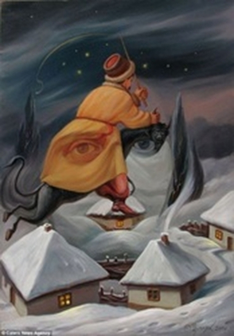 The Optical Illusions Of Oleg Shuplyak [Pic] | I Am Bored | The brain and illusions | Scoop.it