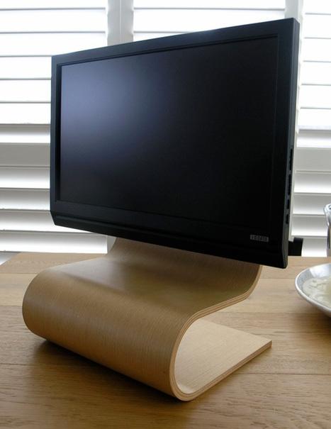 Desktop Wood Stand | Art, Design & Technology | Scoop.it