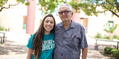 Teen And Her 82-Year-Old Grandpa Go Back To School At Same College | Amanda Carroll | Scoop.it
