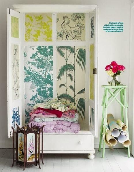 Que faire des chutes de papier peint ? | PAPIER PEINT | Scoop.it
