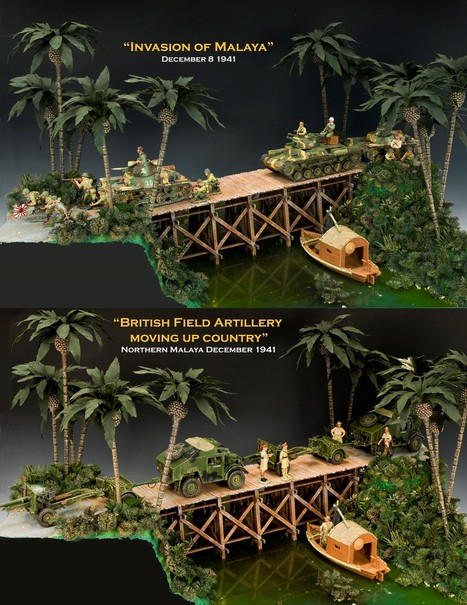 """The Malaya Campaign"" (Dec. 8, 1941 – Feb.15, 1942) 