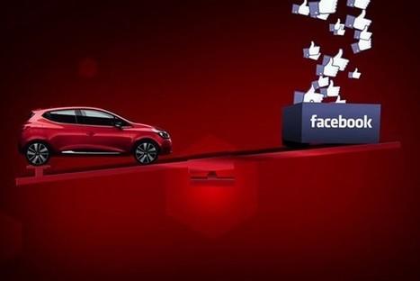 Renault soulève une voiture avec la puissance du «J'aime» Facebook ! | CommunityManagementActus | Scoop.it