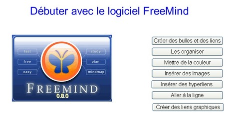 Créer des cartes mentales avec Freemind : application et tutoriels gratuits | Moodle and Web 2.0 | Scoop.it