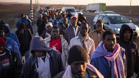 African Refugees stand up to Israeli racism   Africa   Scoop.it