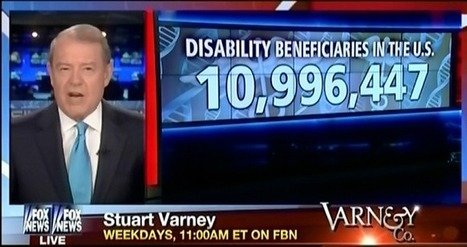 """Fox News Falsely Claims Americans Use """"Disability Option"""" To Avoid Work   Daily Crew   Scoop.it"""