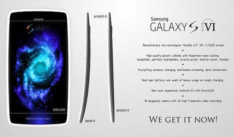 Samsung Galaxy S6 Futuristic Design from Samsung - Trends Gadget   Gadget Information   Scoop.it