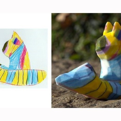 3D print service turns children's drawings into sculptures (Wired UK) | it by bit | Scoop.it