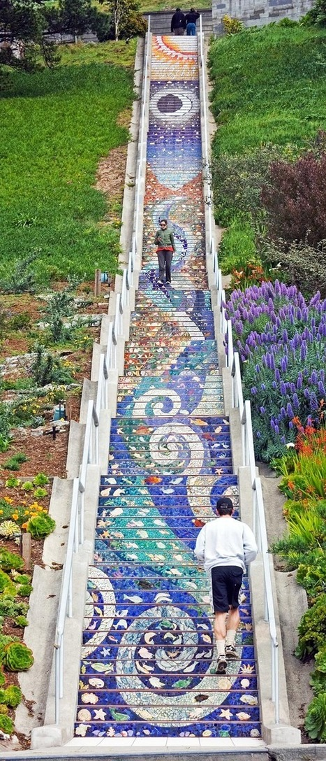 The 16th Avenue Tiled Steps Project   Annie Haven   Haven Brand   Scoop.it