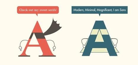 Faut-il ou non utiliser les typographies serif sur le Web ? | TYPOGRAPHIE | Scoop.it