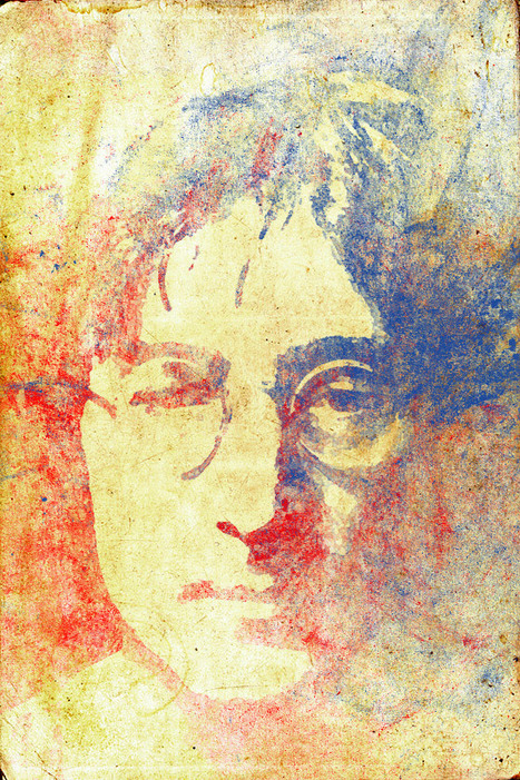 Create a Colorful Grunge John Lennon Portrait in Photoshop | Photoshop Photo Effects Journal | Scoop.it