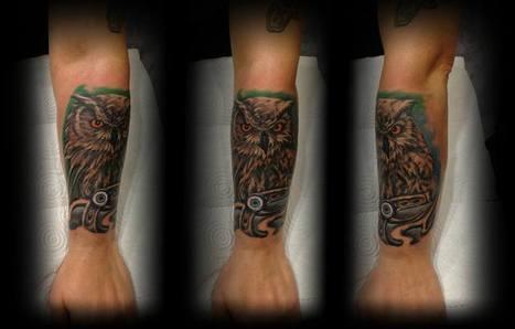 Owl | Tattoo | Scoop.it