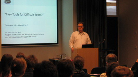 Easy Tools for Difficult Texts?   Textualscholarship.nl   Textual Scholarship   Scoop.it