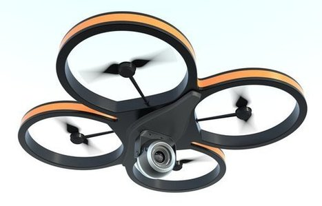 Contrôler un drone depuis Twitter, le brevet est déposé | Twitter pour les petites et moyennes entreprises (PME-TPE) | Scoop.it