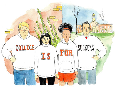 Saying No to College | Rethinking Public Education | Scoop.it