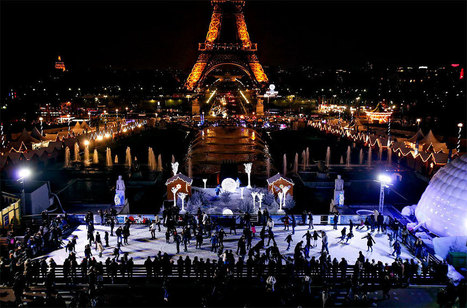 3 Great Places to Take the Family Ice Skating in Paris | Family Travel | Scoop.it