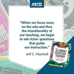 » Book Excerpt: The Highly Effective Teacher: 7 Classroom-Tested Practices That Foster Student SuccessASCD Inservice | Cool School Ideas | Scoop.it
