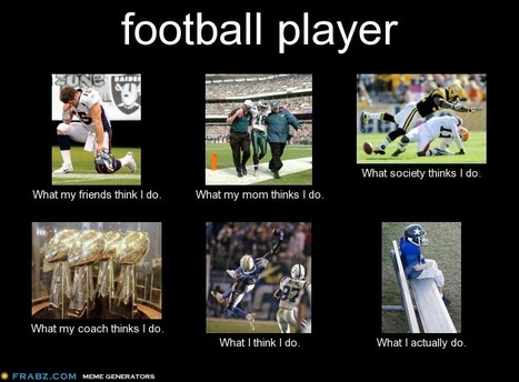Football Player | What I really do | Scoop.it