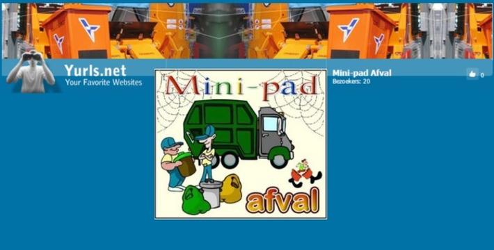 Edu-Curator: Nieuwe internetopdracht van Jack Nowee: Mini-pad 'Afval' | Edu-Curator | Scoop.it