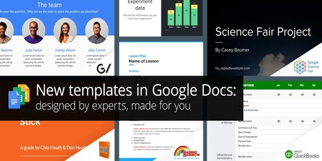 Google Docs, Sheets, & Slides get new templates on web & mobile by @JordanKahn | REALIDAD AUMENTADA Y ENSEÑANZA 3.0 - AUGMENTED REALITY AND TEACHING 3.0 | Scoop.it