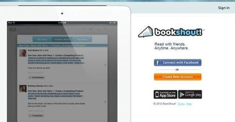 Bookshout – plataforma social para la lectura online de libros | Recull diari | Scoop.it