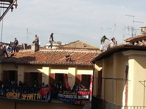 Centro, i movimenti occupano l'ex sede dei vigili in via Montecatini | Veg_SXE | Scoop.it
